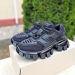 Жіночі кросівки Prada Cloudbust Thunder (чорні) 20081, фото 2