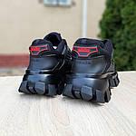 Жіночі кросівки Prada Cloudbust Thunder (чорні) 20081, фото 3
