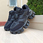 Жіночі кросівки Prada Cloudbust Thunder (чорні) 20081, фото 5