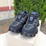 Жіночі кросівки Prada Cloudbust Thunder (чорні) 20081, фото 7