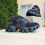 Жіночі кросівки Prada Cloudbust Thunder (чорні) 20081, фото 6