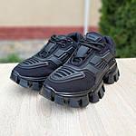 Жіночі кросівки Prada Cloudbust Thunder (чорні) 20081, фото 9
