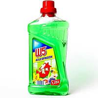 Универсальное чистящее средство для уборки дома W5 all purpose cleaner лимон 1250 мл Германия