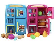 Детский игрушечный холодильник с аксессуарами