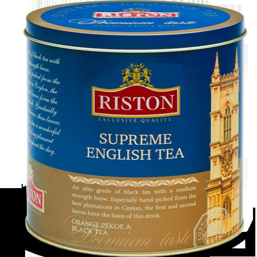 Чай в подарок Ристон Английский 100 г в жестяных банках