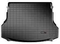 Коврик в багажник Nissan X-trail III (T32) / Rogue (5 мест) 2014 - 2018 за 2 рядом, черные, Tri-Extruded (WeatherTech, 40691) - штука