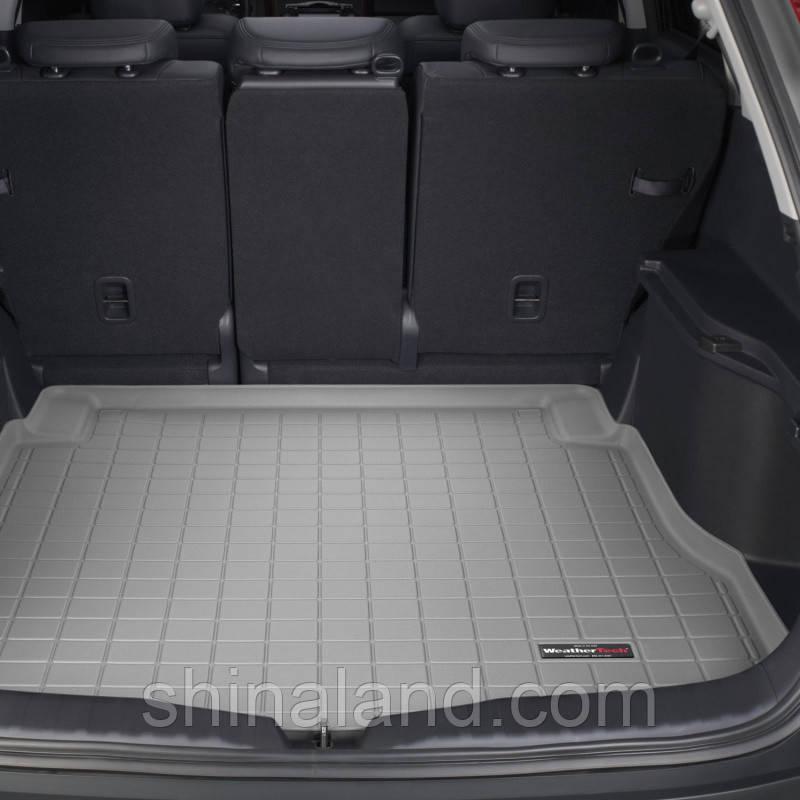 Коврик в багажник Honda CR-V III 2006 - 2012 серый, Tri-Extruded (WeatherTech) - штука