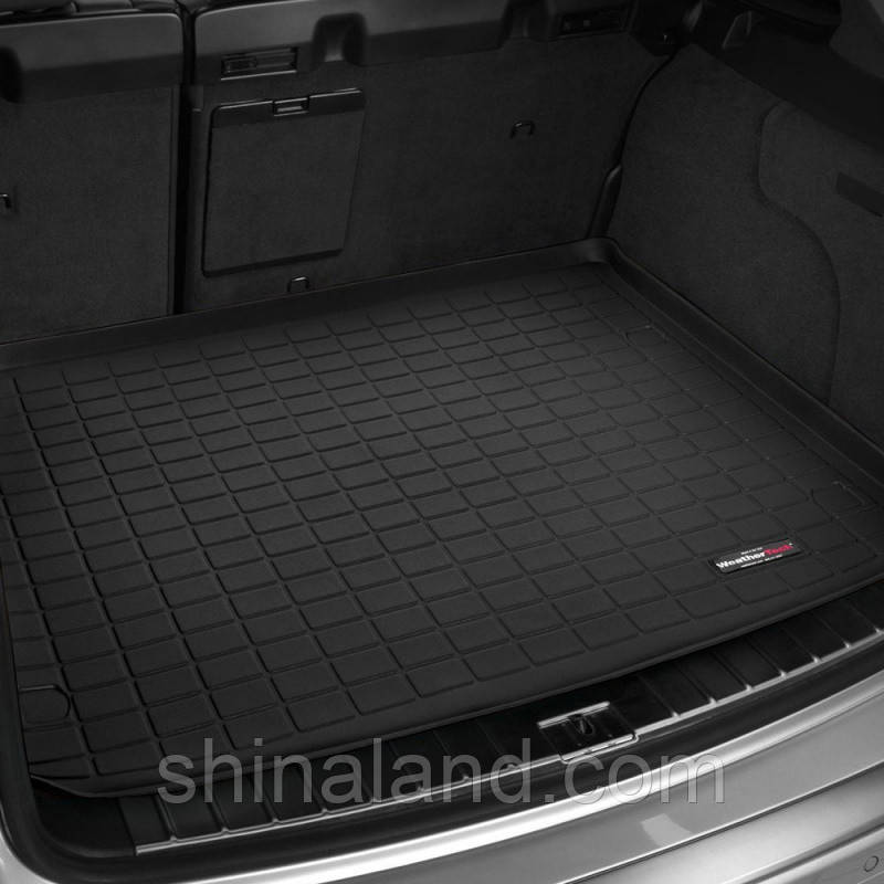 Килимок в багажник Mercedes-Benz ML (W166) 2011 - 2015, GLE (W166) 2015 - 2018 чорний, Tri-Extruded