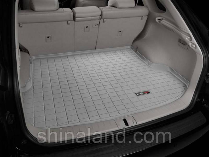 Коврик в багажник Lexus RX 350 III 2008 - 2015 за 2 рядом, серый, Tri-Extruded (WeatherTech) - штука