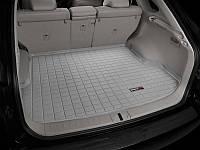 Коврик в багажник Lexus RX 350 III 2008 - 2015 за 2 рядом, серый, Tri-Extruded (WeatherTech) - штука, фото 1