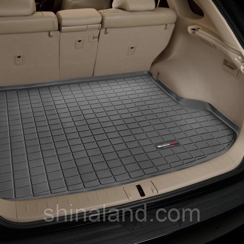 Килимок в багажник Lexus RX 350 III 2008 - 2015 за 2 поруч, чорний, Tri-Extruded (WeatherTech) - штука