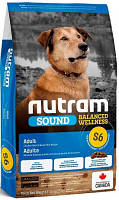 Nutram (Нутрам Холистик) S6 Adult Dog Корм для средних пород собак 20 кг