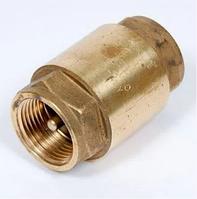 """Клапан обратный с латунным штоком 1"""" LEX Премиум"""
