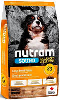 Nutram (Нутрам) S3 Sound Puppy Корм для щенков крупных пород 20 кг