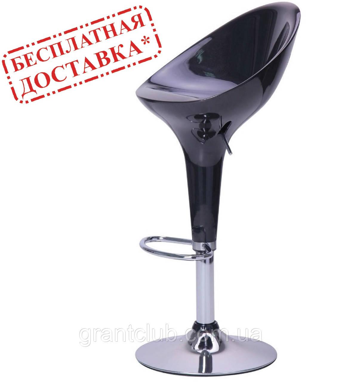 Стілець барний PEONY чорний пластик AMF (безкоштовна адресна доставка)