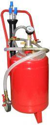 Установка для вакуумной откачки масла (24л.) G.I.Kraft B24V