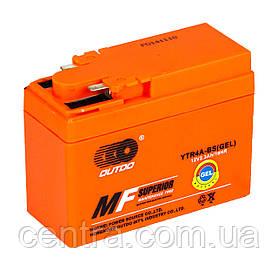 Аккумулятор мото Outdo 2.3Ah YTR4A-BS