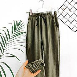 Брюки женские Велюровые. Стильные женские БРЮКИ ШТАНЫ. Женские высокие брюки зауженные на манжете!