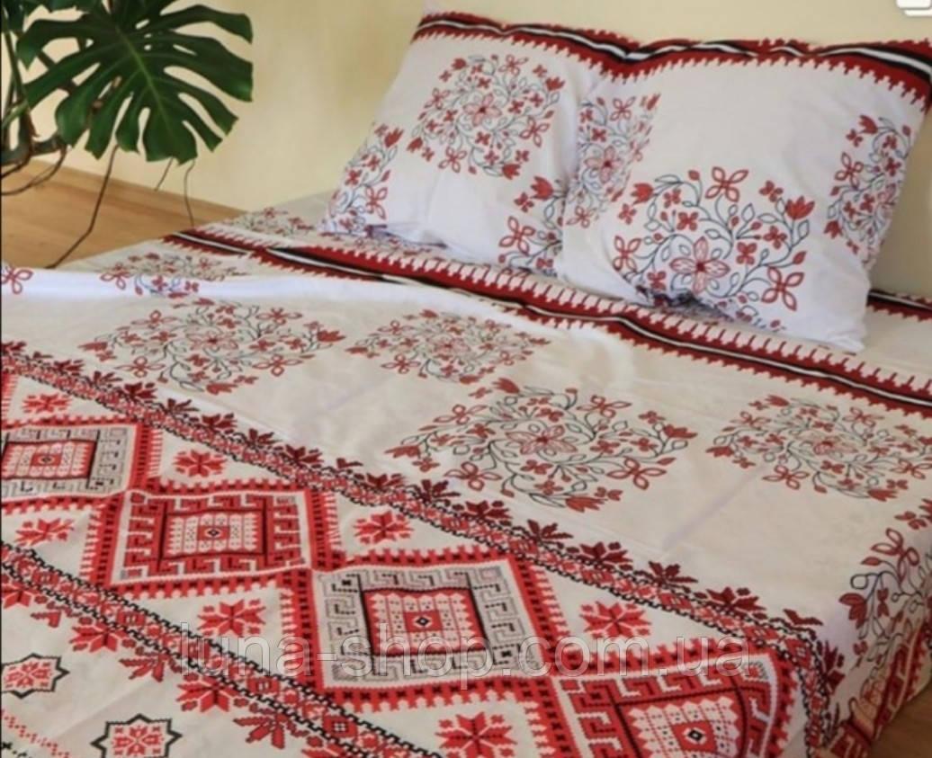 Комплект постельный Вышиванка-1, бязь