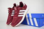 Женские кроссовки Adidas INIKI (бордовый) 2793, фото 3