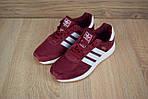 Женские кроссовки Adidas INIKI (бордовый) 2793, фото 8