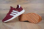 Женские кроссовки Adidas INIKI (бордовый) 2793, фото 7