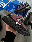 Чоловічі кросівки Adidas Yeezy Boost 350 Рефлективні - 370TP, фото 6