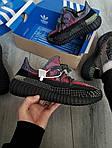 Чоловічі кросівки Adidas Yeezy Boost 350 Рефлективні - 370TP, фото 4