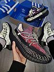 Мужские кроссовки Adidas Yeezy Boost 350 Рефлективные - 370TP, фото 7