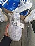 Чоловічі кросівки Adidas Yeezy Boost 350 v2 Static Reflective (білі) - 369TP, фото 5