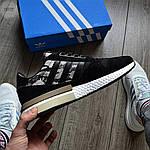 Мужские кроссовки Adidas ZX 500 (черные) 368TP, фото 2