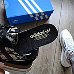 Мужские кроссовки Adidas ZX 500 (черные) 368TP, фото 3