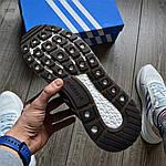 Мужские кроссовки Adidas ZX 500 (черные) 368TP, фото 5