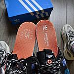 Мужские кроссовки Adidas ZX 500 Commonwealth (черные) 367TP, фото 3