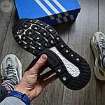 Мужские кроссовки Adidas ZX 500 Commonwealth (черные) 367TP, фото 4