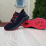 Женские кроссовки Puma Hybrid (черно-красные) 20077, фото 5