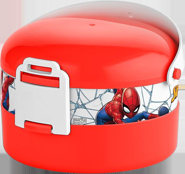 Контейнер Herevin Disney Spiderman Red