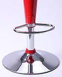 Стул барный PEONY красный пластик AMF (бесплатная адресная доставка), фото 8