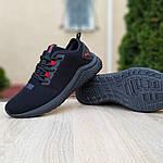 Мужские кроссовки Puma Hybrid (черно-красные) 10090, фото 6