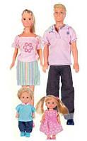 Игровой набор Счастливая Семья Steffi Simba 5738565
