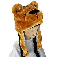 Шапка маска Медведь