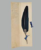 Перо гусиное для каллиграфии Dallaiti Piu05 синий