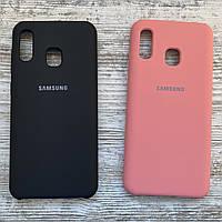 Силиконовый чехол для Samsung Galaxy A20