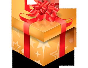 Подарок для покупателей