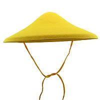 Шляпа Грибок (жёлтый)