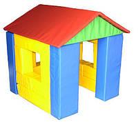 Мягкий игровой Модуль-конструктор Домик для детей от 1 года, 22 геометрических элемента, для дома и детсада