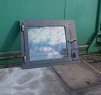 Комплектующие для камина: дверца со стеклокерамикой