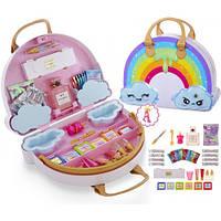 Детский Игровой Набор для Создания Слаймов с сюрпризами Радужная сумка пупси слайм Poopsie Slime Surprise