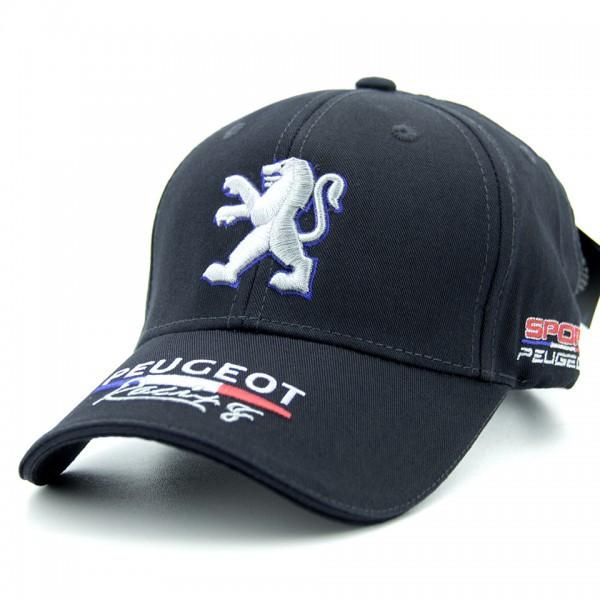 Бейсболка Classic Peugeot темно-синяя (31804-96)