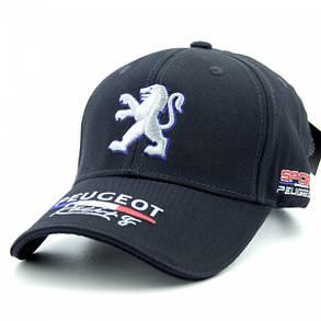 Бейсболка Classic Peugeot темно-синяя (31804-96), фото 2